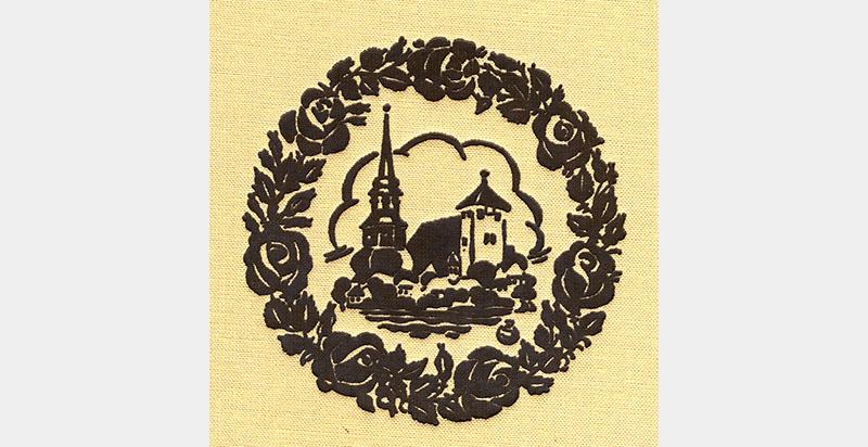Emblem der Rosenkranz-Gotteshülfe-Brüderschaft
