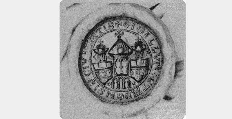 Majestäts-Siegel der Stadt Stade